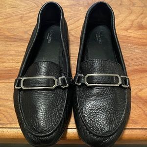 COACH FLYNN Style Leather Loafers